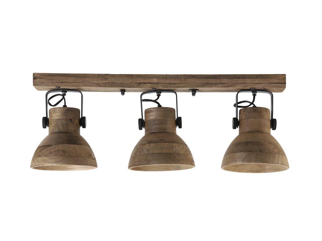 Nástěnná lampa dřevěná ILANIO 3