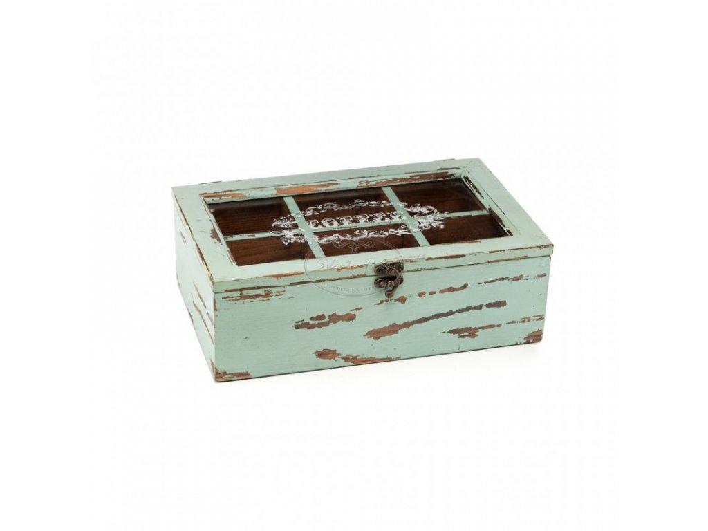 Dřevěná krabička MAZI