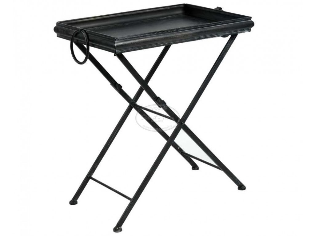 Industriální odkládací stolek LOFT1