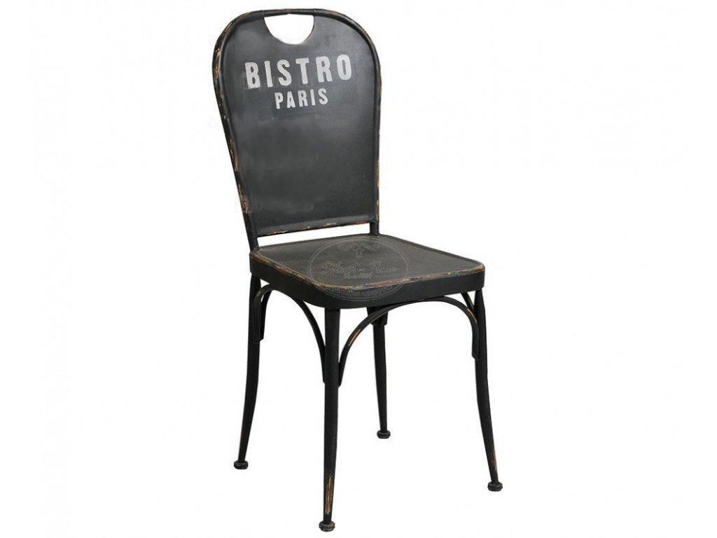 Kovová židle BISTRO PARIS
