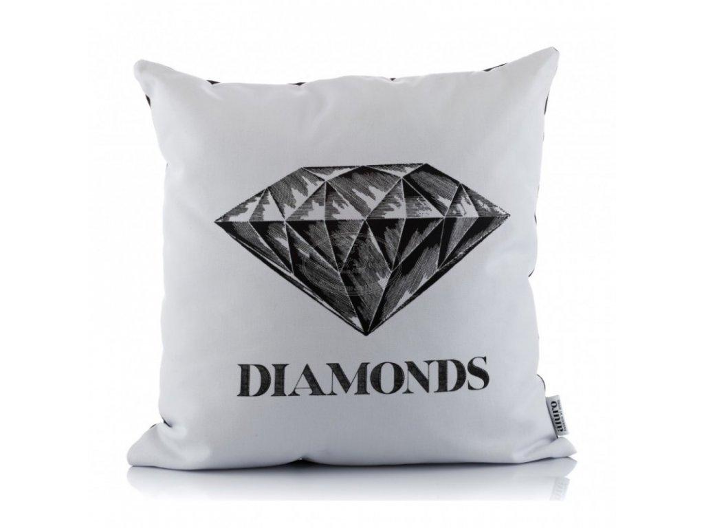 Polštář DIAMONDS WHITE