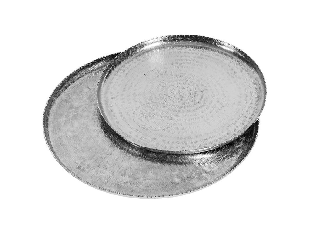 Stříbrný podnos DELUXE 2