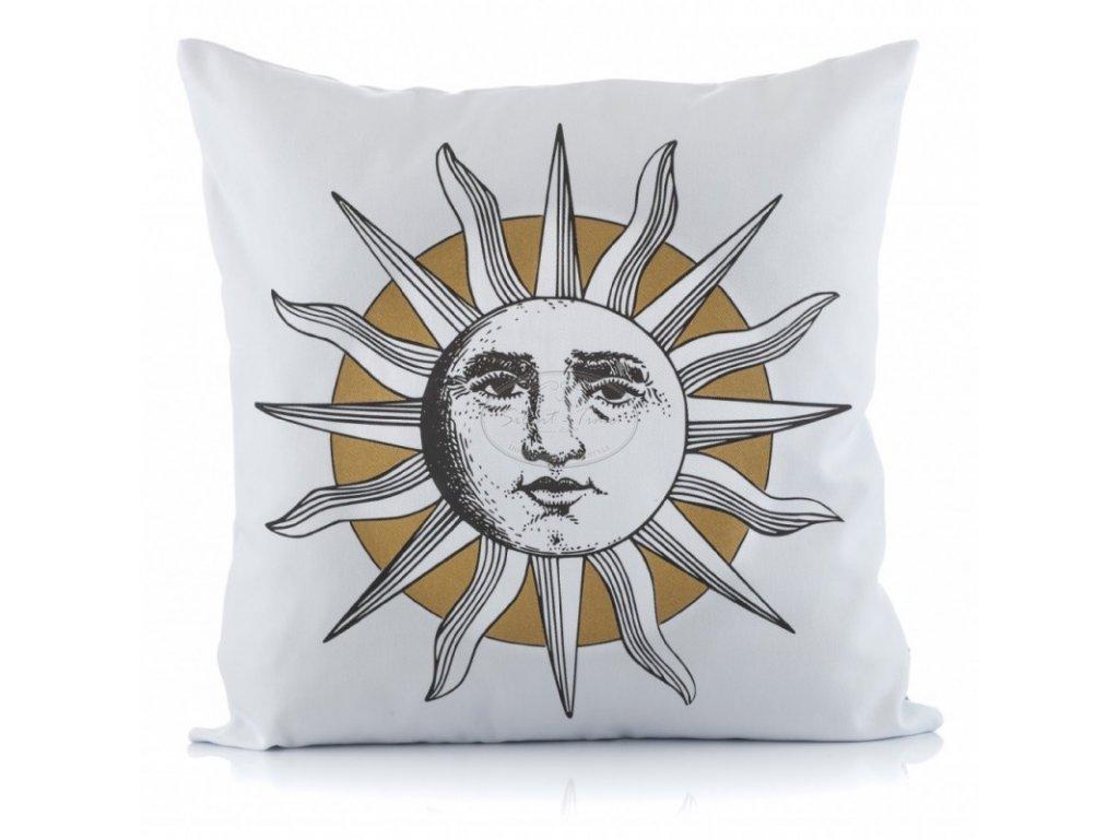 Polštář GOLD WHITE slunce