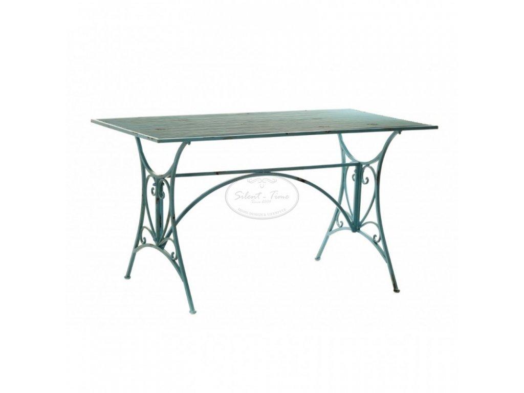 Kovový stůl BLUE SKY obdélník