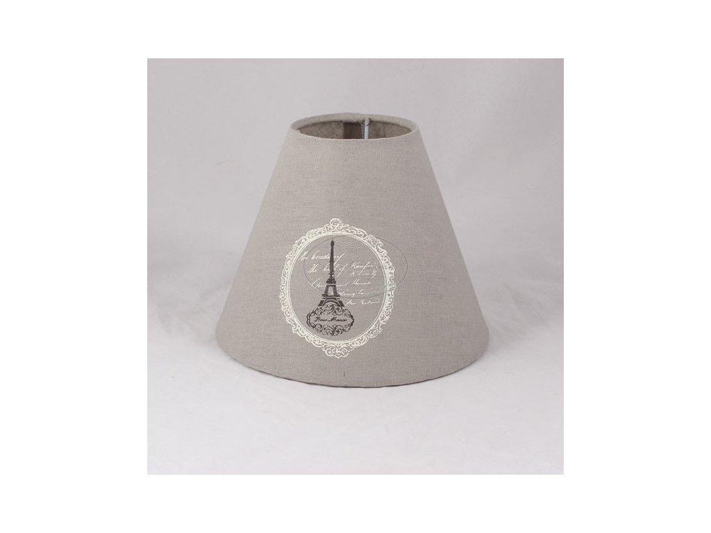 Textilní stínidlo na lampu PARIS