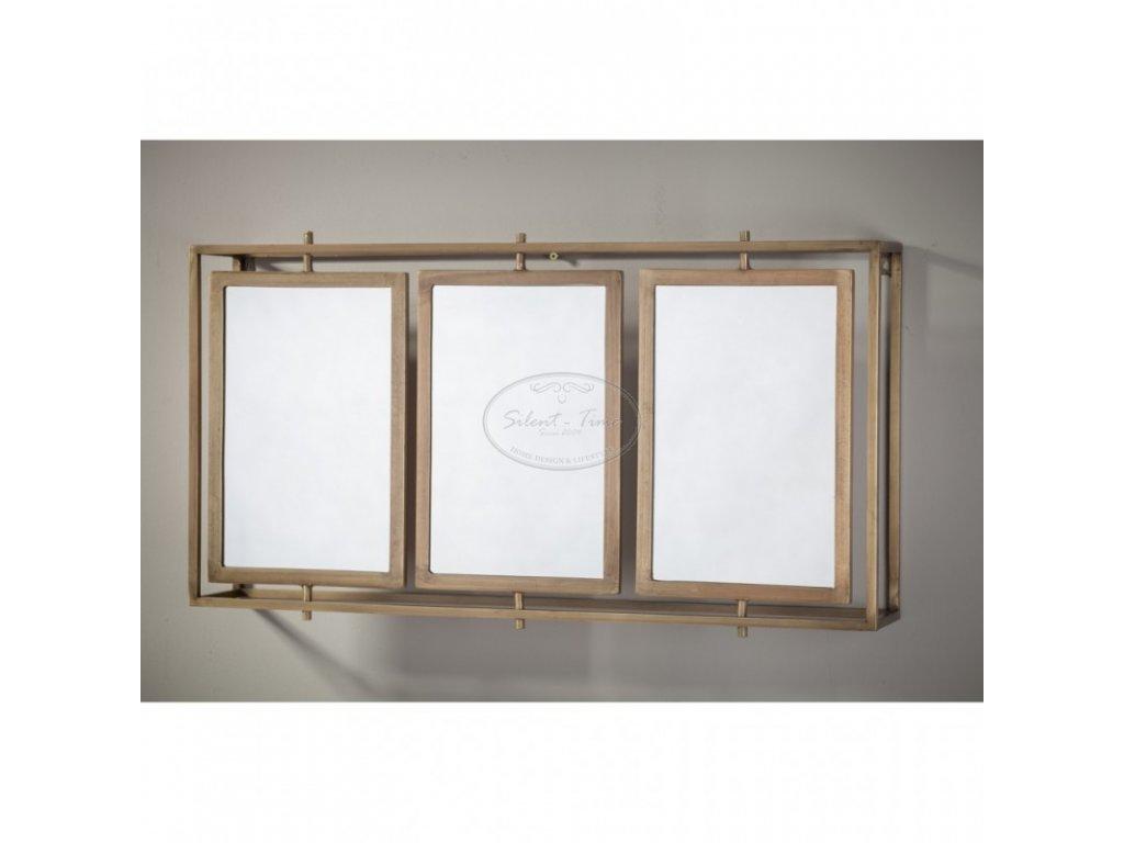 Zrcadlo kovové GOLD 3 MONO