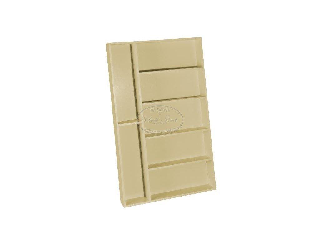 Dřevěný box na příbory do zásuvky VL5223