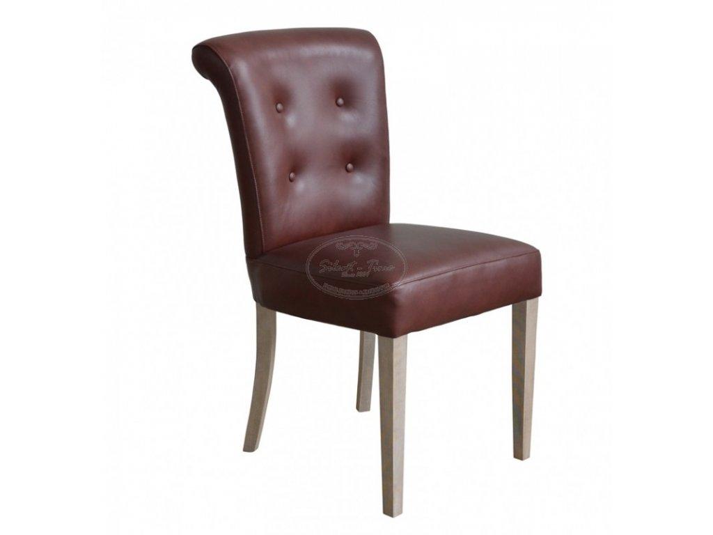 Židle kožená ML7149