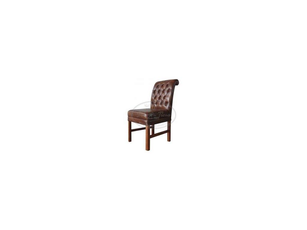Židle kožená ML7810