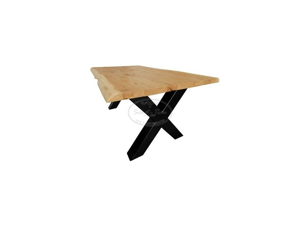 Dubový stůl OAK NATURAL NBO-44