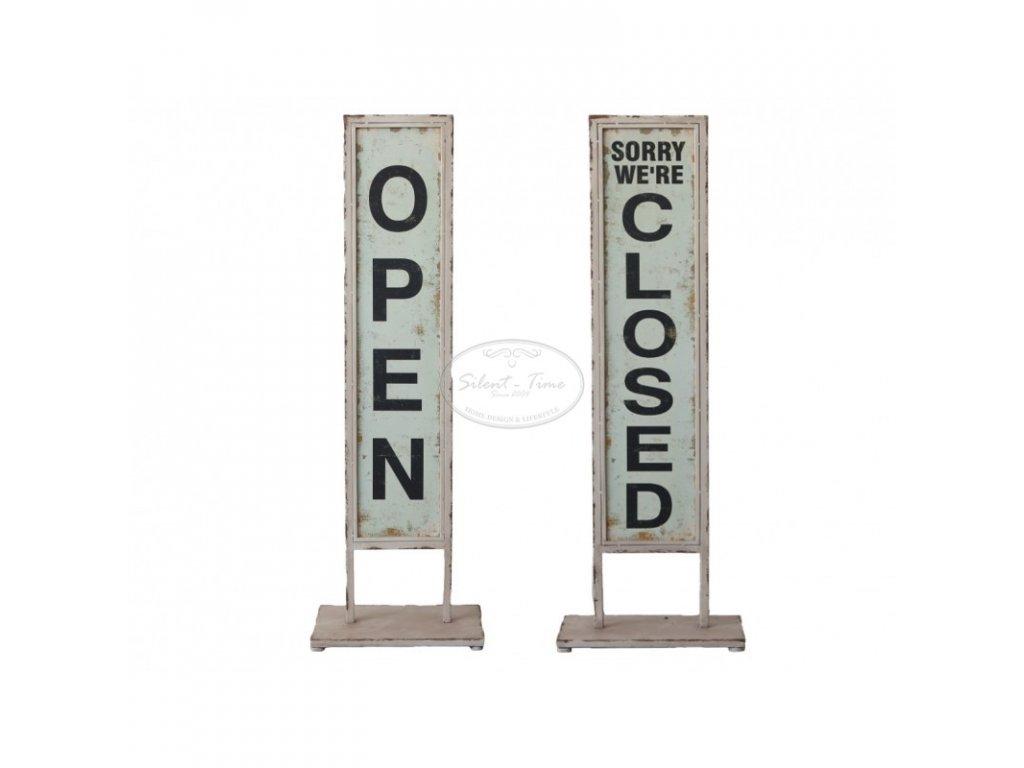 Kovový stojan OPEN-CLOSED