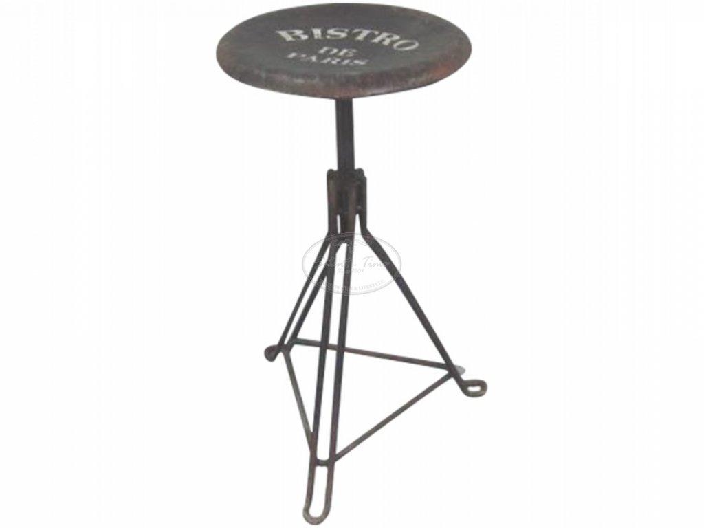 Kovová stolička Chic Antique 1