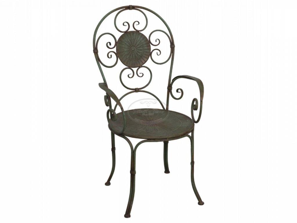 Kovová židle Chic Antique 1