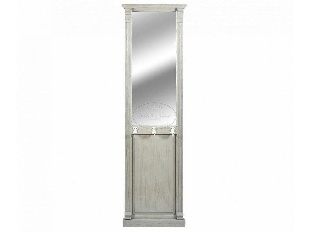 Zrcadlo předsíňová stěna s háčky ENTRY