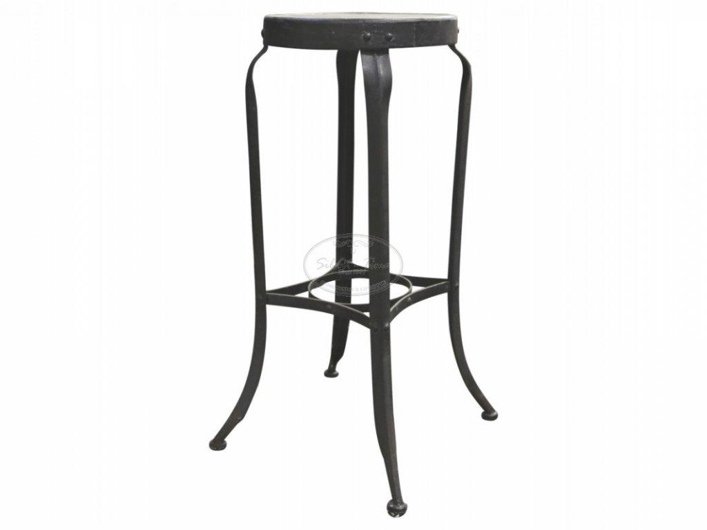 Židle barová Bistro Chic Antique