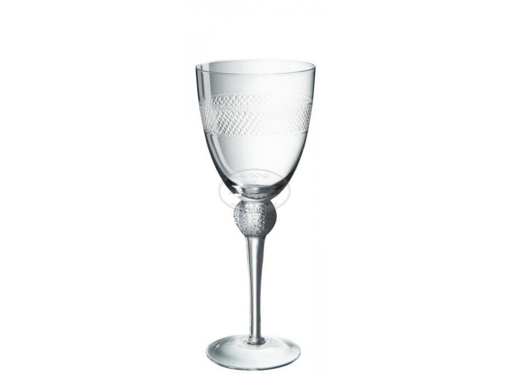 Sada sklenic na víno ETCHING 2