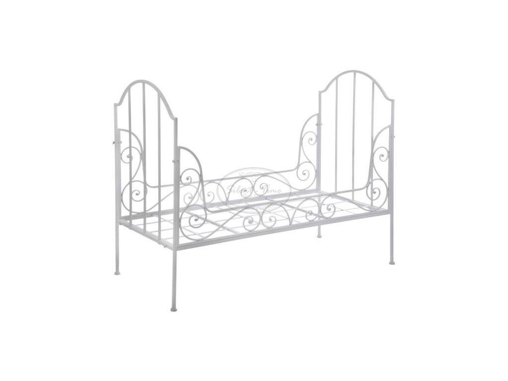 Kovová dětská postel SHABBY