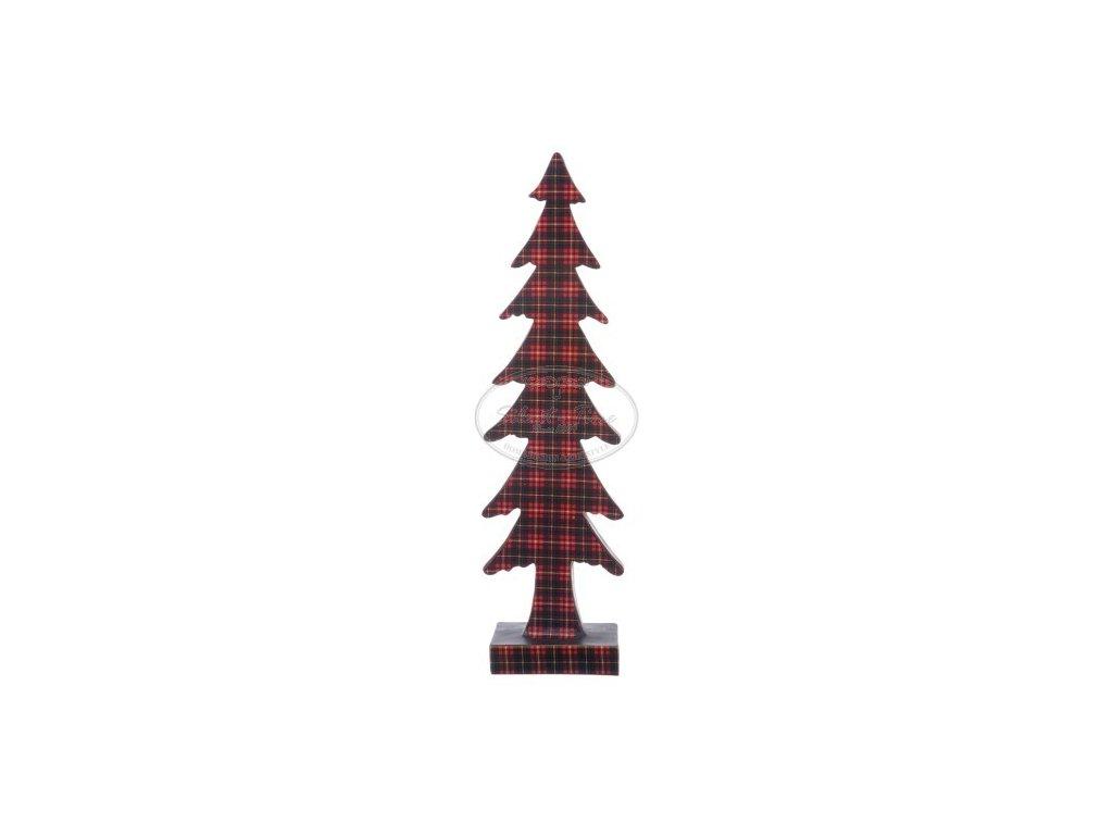 Stromeček keramický károvaný