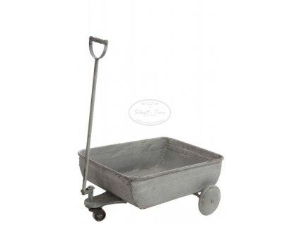Plechový vozík CART