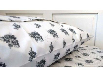 Povlečení Grey Rose - 2 postele