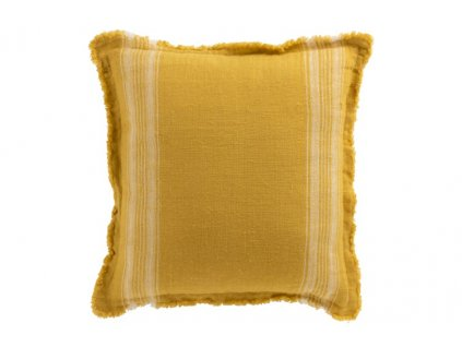 Polštář žlutý s proužky