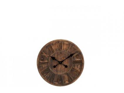 Dřevěné hodiny DISC S
