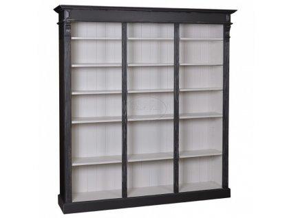 Dřevěná knihovna PS-376BW
