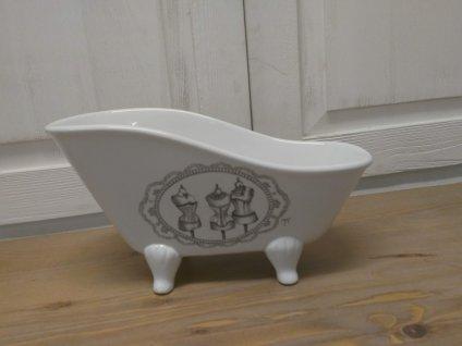 Keramická vanička na mýdlo