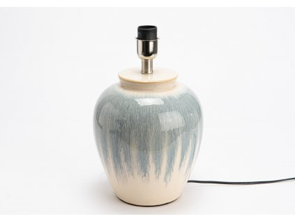Lampa keramická BLUE-WHITE
