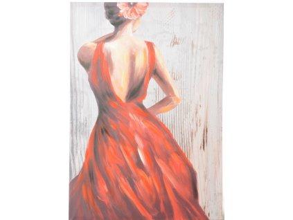 Obraz tanečnice FLAMENGO RED