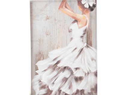 Obraz tanečnice FLAMENGO WHITE