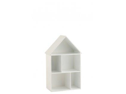 Domeček pro panenky - police WHITE