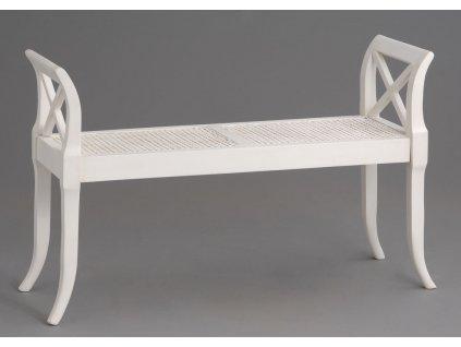 Lavička sofa BOSTONY WHITE