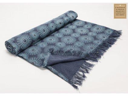 Plážová deka NAYA blue