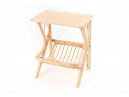 Noční stolek ratanový BOHO