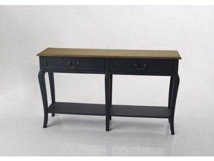 Konzolový stolek SEINE DARK BLUE N-1
