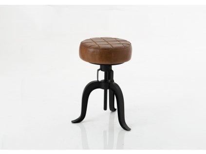 Barová židle FACTORY LEATHER