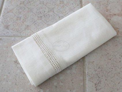 Ubrousek Chic Antique EYELET WHITE