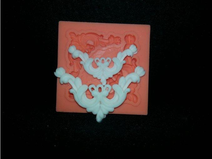 Silikonová formička ornamenty malé 1043