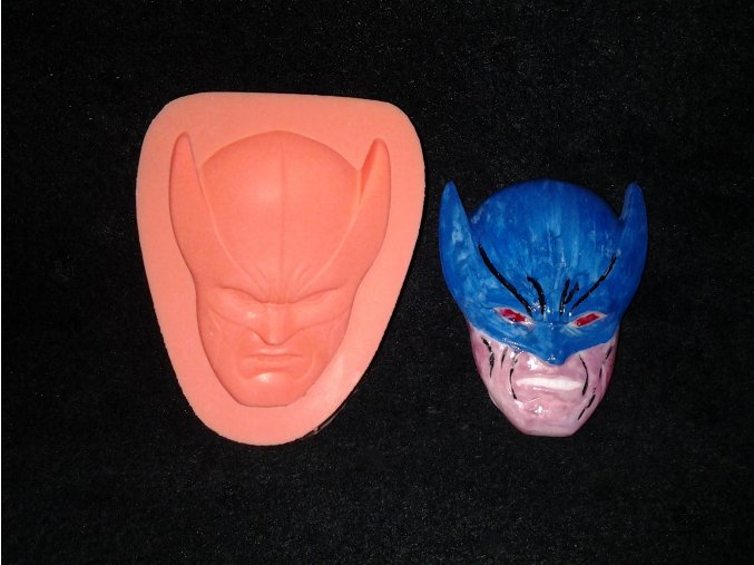 Silikonová formička maska 2030
