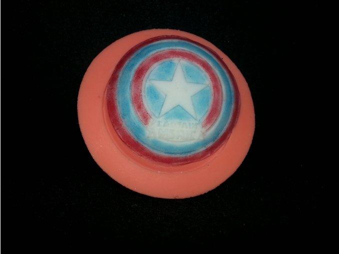 Silikonová formička znak Captain America 5113