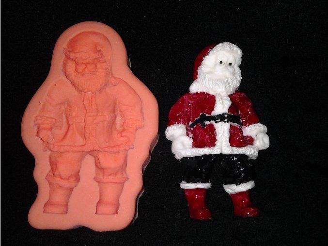 Silikonová formička Santa Claus 2043