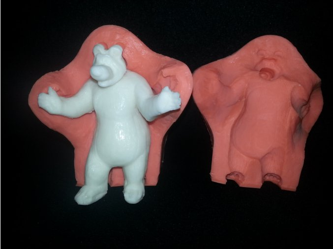 Silikonová formička medvěd 3124