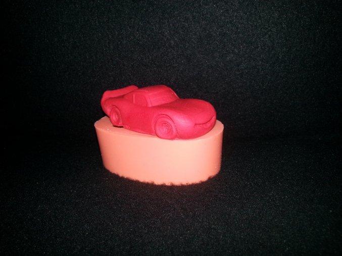 Silikonová formička autíčko blesk mc queen 3126