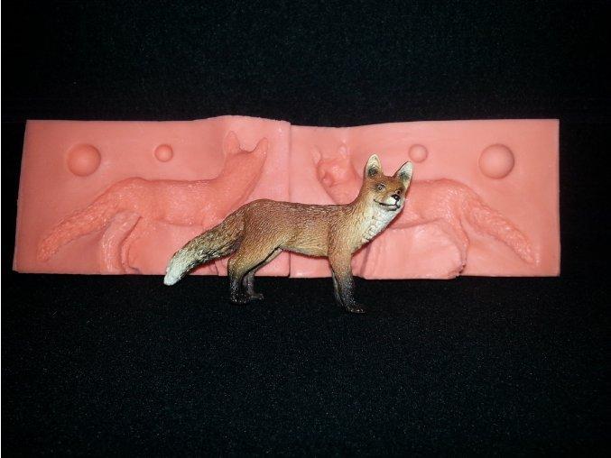 Silikonová formička liška 3130