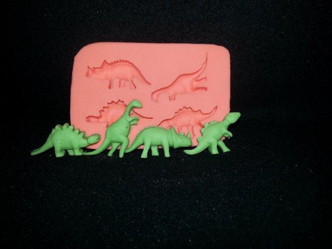 Silikonová formička dinosauři maličcí 2135