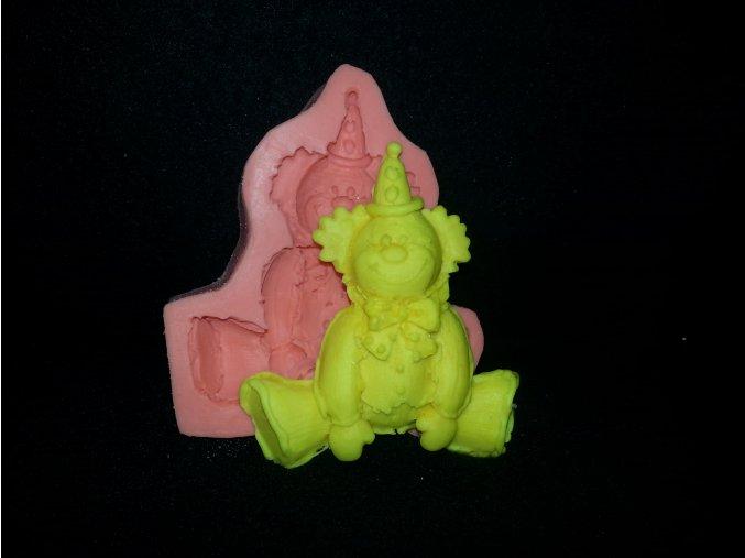 Silikonová formička klaun 2136