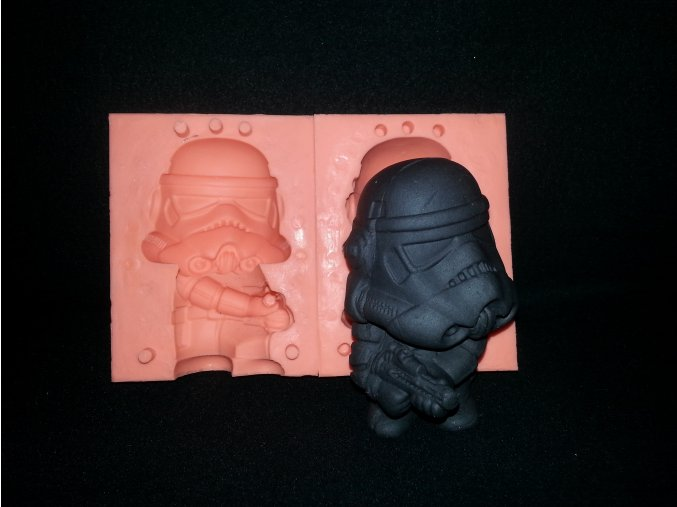 Silikonová formička Darth Vader 3141