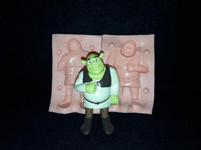Silikonová formička Shrek 3142