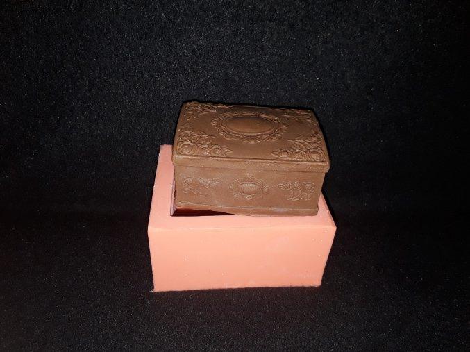 Silikonová formička truhlička 5127